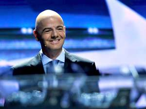 Gianni Infantino Champions League draw
