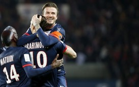 Ligue 1 : Zlatan Ibrahimovic & David Beckham (Paris SG vs Stade Brestois)