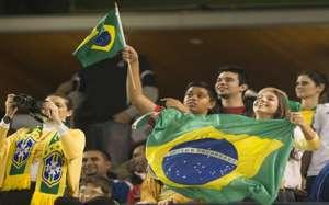 Brazil fans Toronto 191113