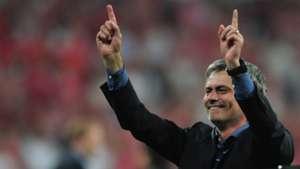 Jose Mourinho Inter Bayern Munich 2010