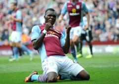 Aston Villa striker Christian Benteke.