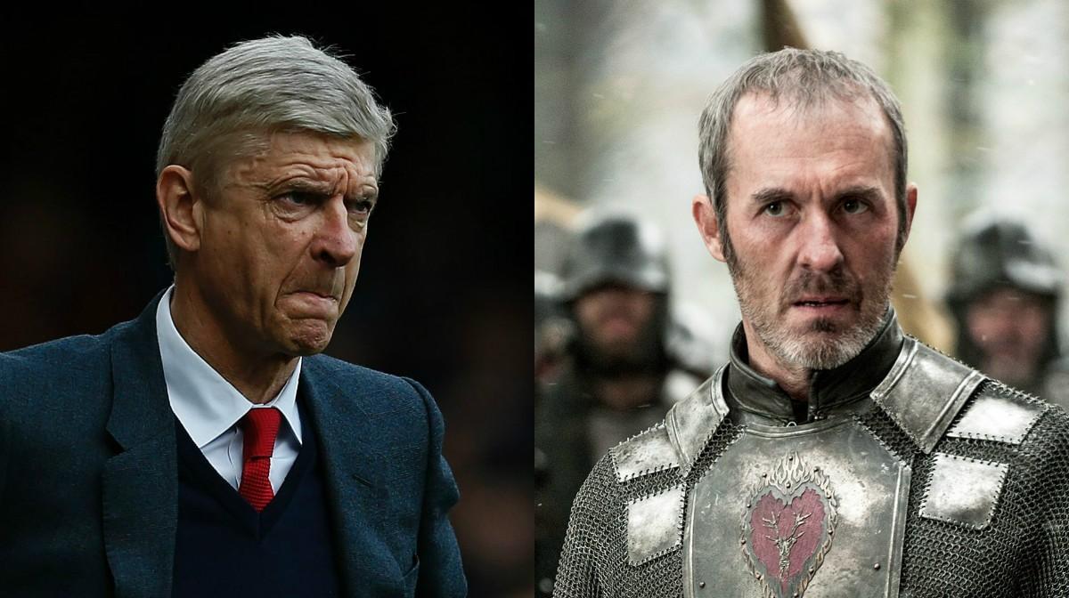 Arsene Wenger | Stannis Baratheon