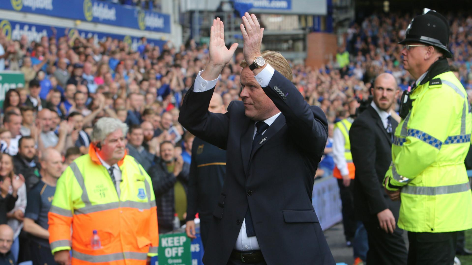 HD Ronald Koeman Everton Tottenham