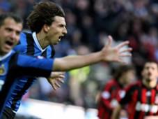 Dejan Stankovic Zlatan Ibrahimovic Inter Gennaro Gattuso Milan Serie A 03112007