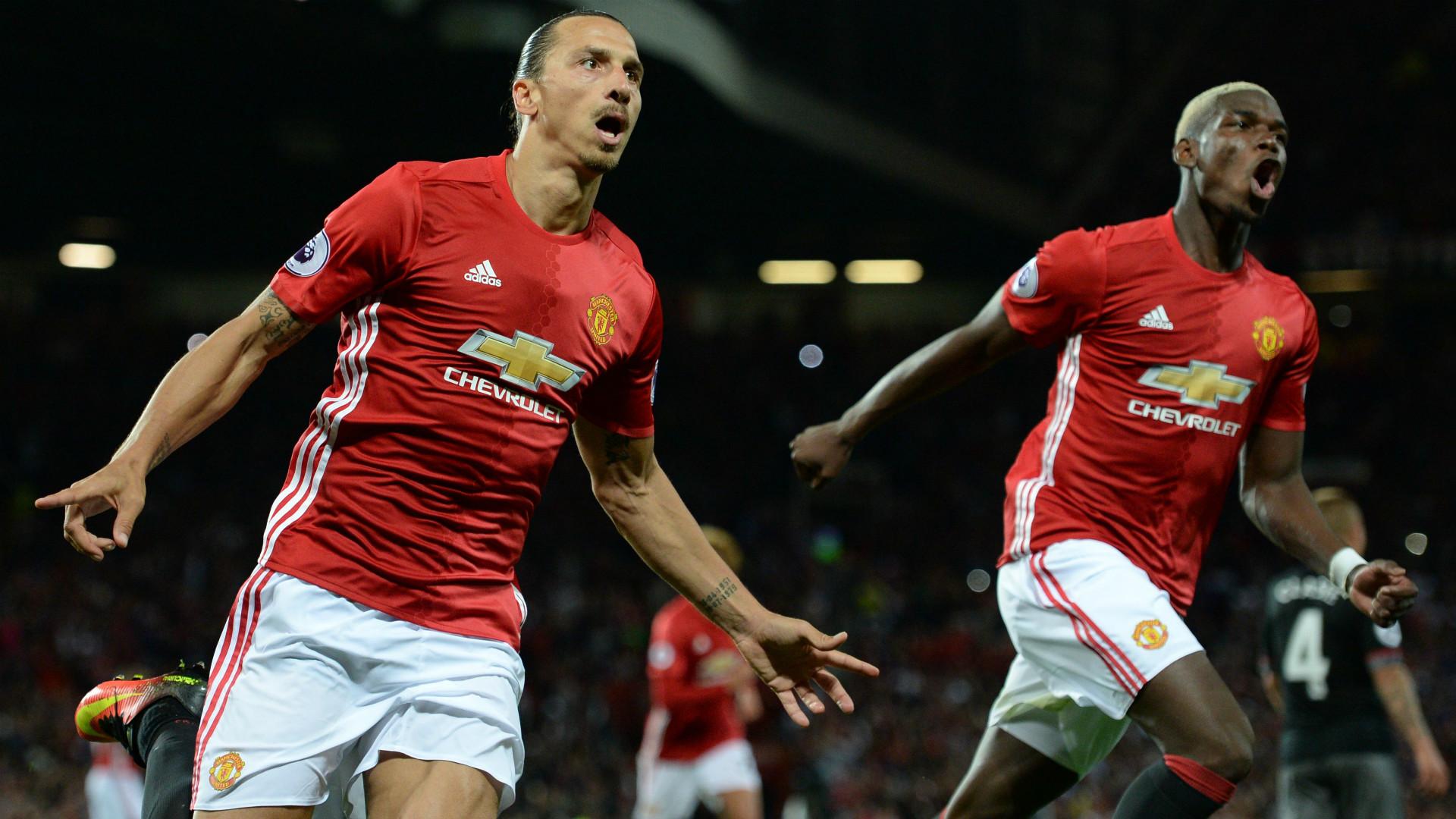 Ibrahimovic e Pogba - Manchester United
