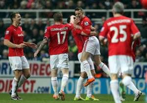 Cardiff City players celebrate