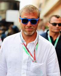 Chelsea Football Club owner and businessman Roman Abramovich