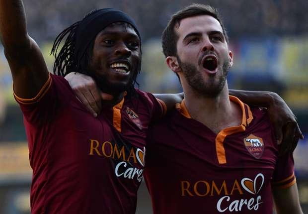 Roma 2-0 AC Milan: Pjanic & Gervinho end Rossoneri's run to keep title dream alive