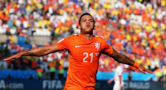 Memphis Depay, Netherlands, Chile, World Cup, 06232014