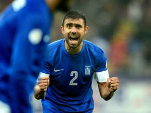 Ioannis Maniatis Greece Romania 2014 World Cup Qualifier Play Off 11192013