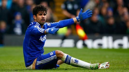 Diego Costa Premier League Chelsea v Southampton 150315