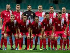 Gibraltar Line Up Slovakia International Friendly 11192013