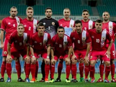 Gibraltar Line Up Slovakia International Friendly 11192013