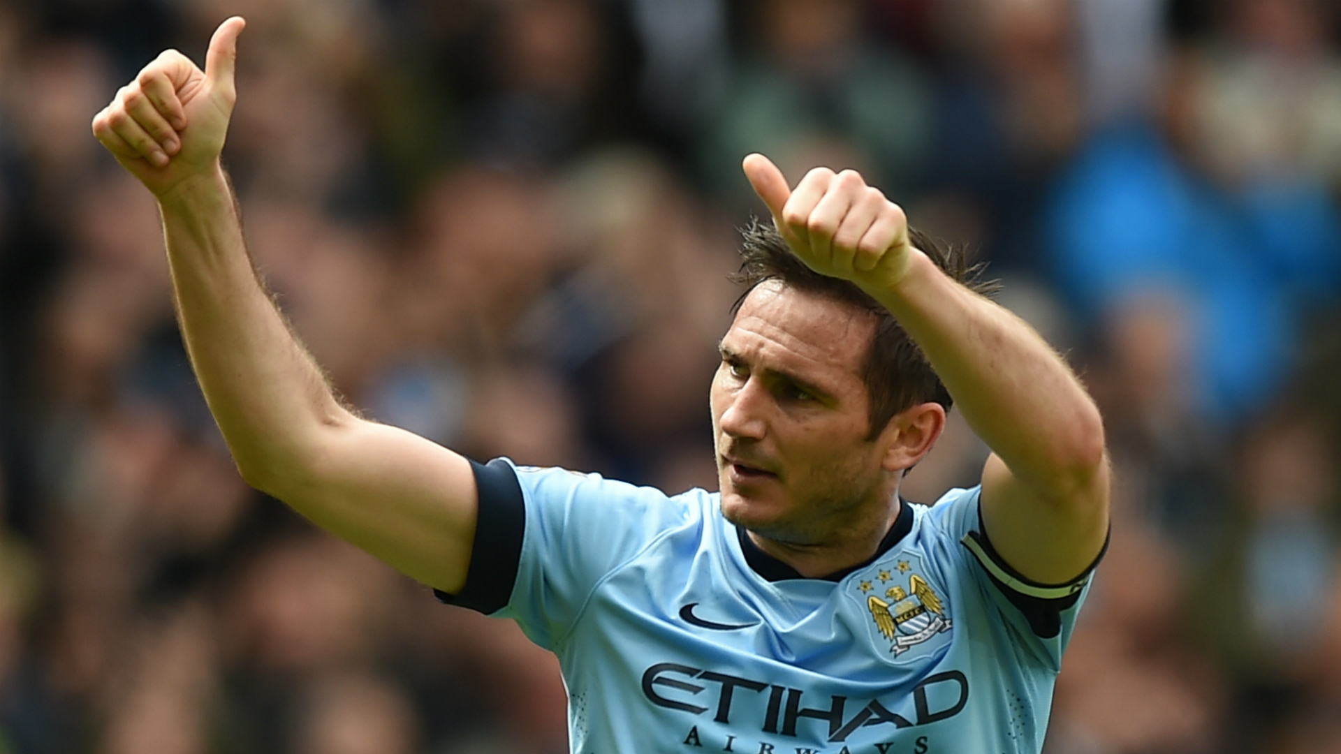Frank Lampard Manchester City  Premier League 24052015