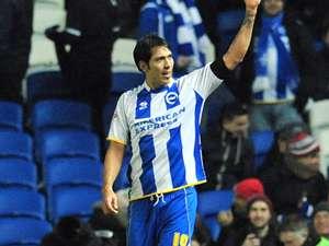Leonardo Ulloa Brighton & Hove Albion Hull City FA Cup 02172014