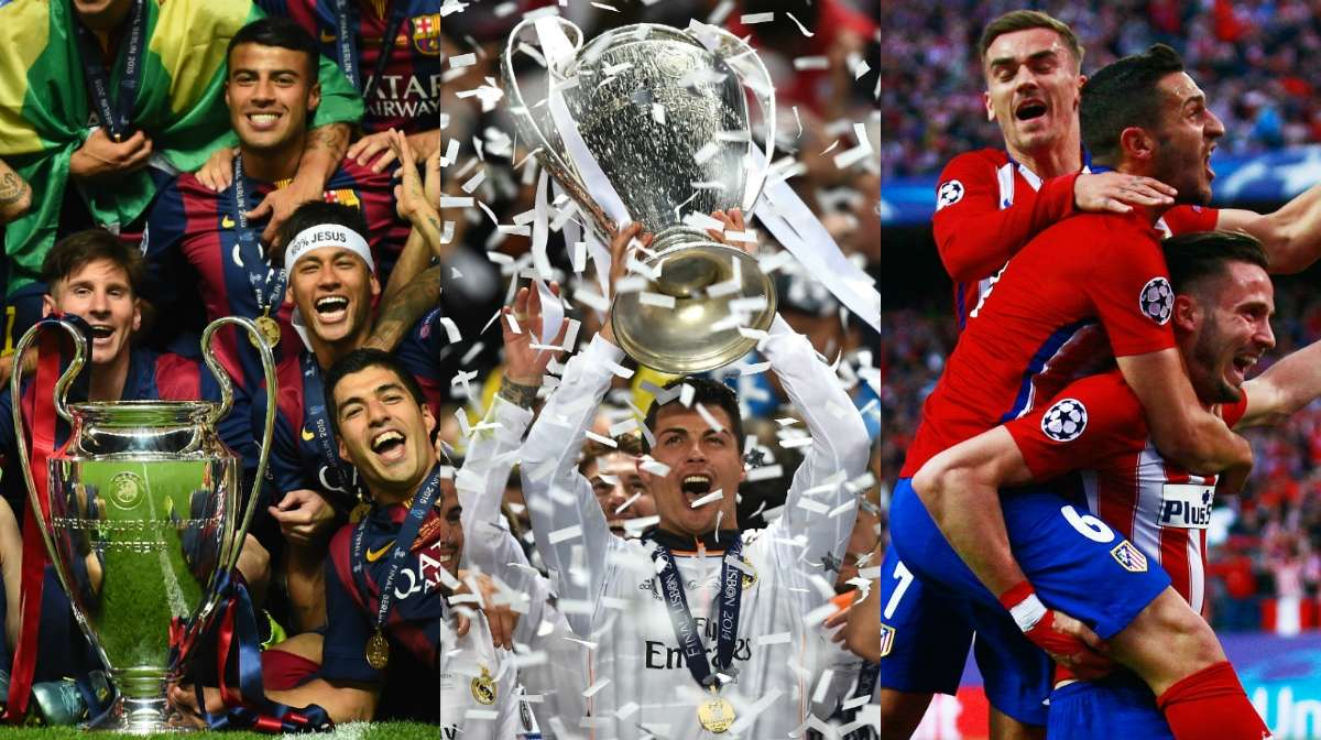 Champions League 2016-17 group stage | Spain