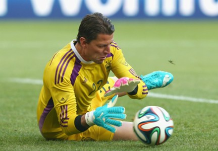 ROMAN WEIDENFELLER GERMANY CAMEROON FRIENDLY 06012014