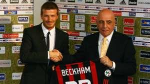 David Beckham joins AC Milan