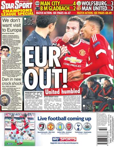 Wednesday's European Newspaper Review | Daily Star