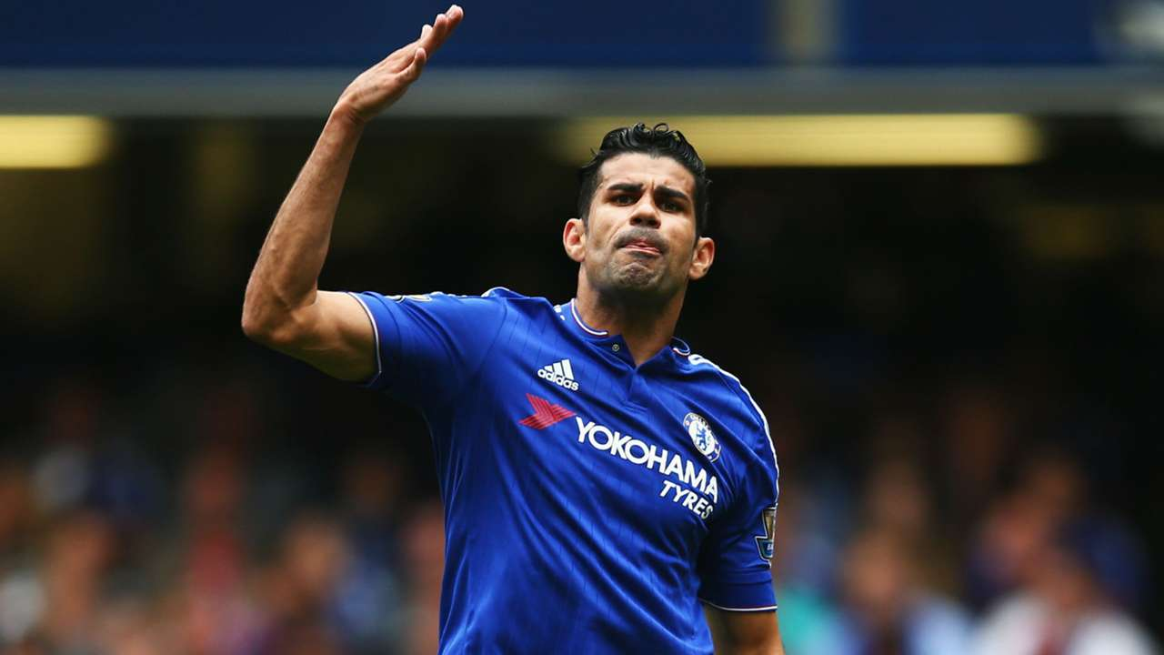 Diego Costa Premier League Chelsea v Crystal Palace 290815