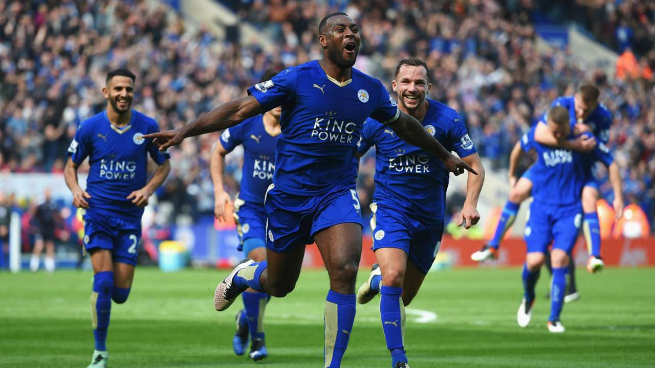HD Wes Morgan Leicester City Southampton