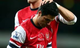 Mikel Arteta  Arsenal Fulham  Premier League  11102012