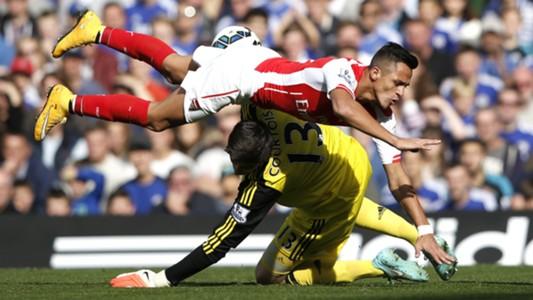 Chelsea Arsenal Premier League 05102014