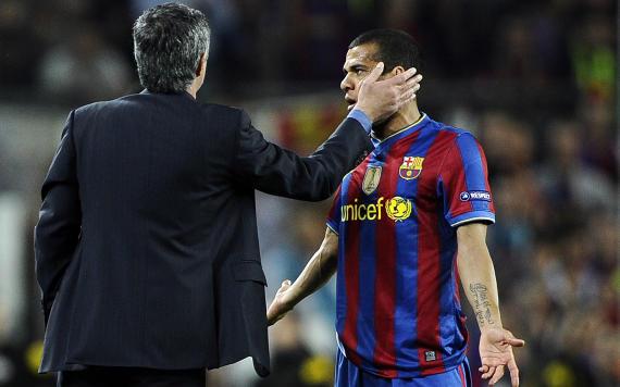 FC Barcelona: Dani Alves & Jose Mourinho, then Inter