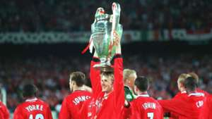 David Beckham Champions League 1999