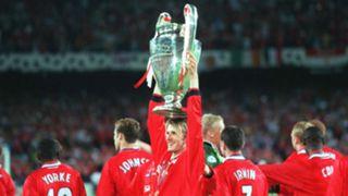 David Beckham Champions League 1999