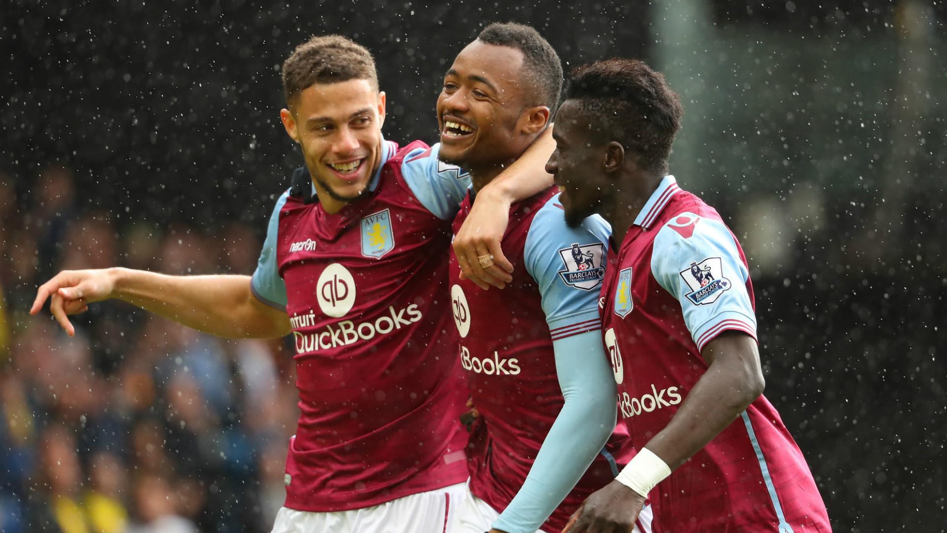 Jordan Ayew Aston Villa Watford Premier League 30042016