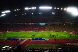 Shah Alam Stadium on Malaysia Cup Final night