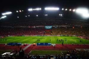 Shah Alam Stadium on Malaysia Cup Final night
