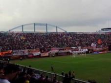 Suasana Stadion Maguwoharjo - Persija vs Persib Bandung (Goal Indonesia/Yudha Danujatmika)
