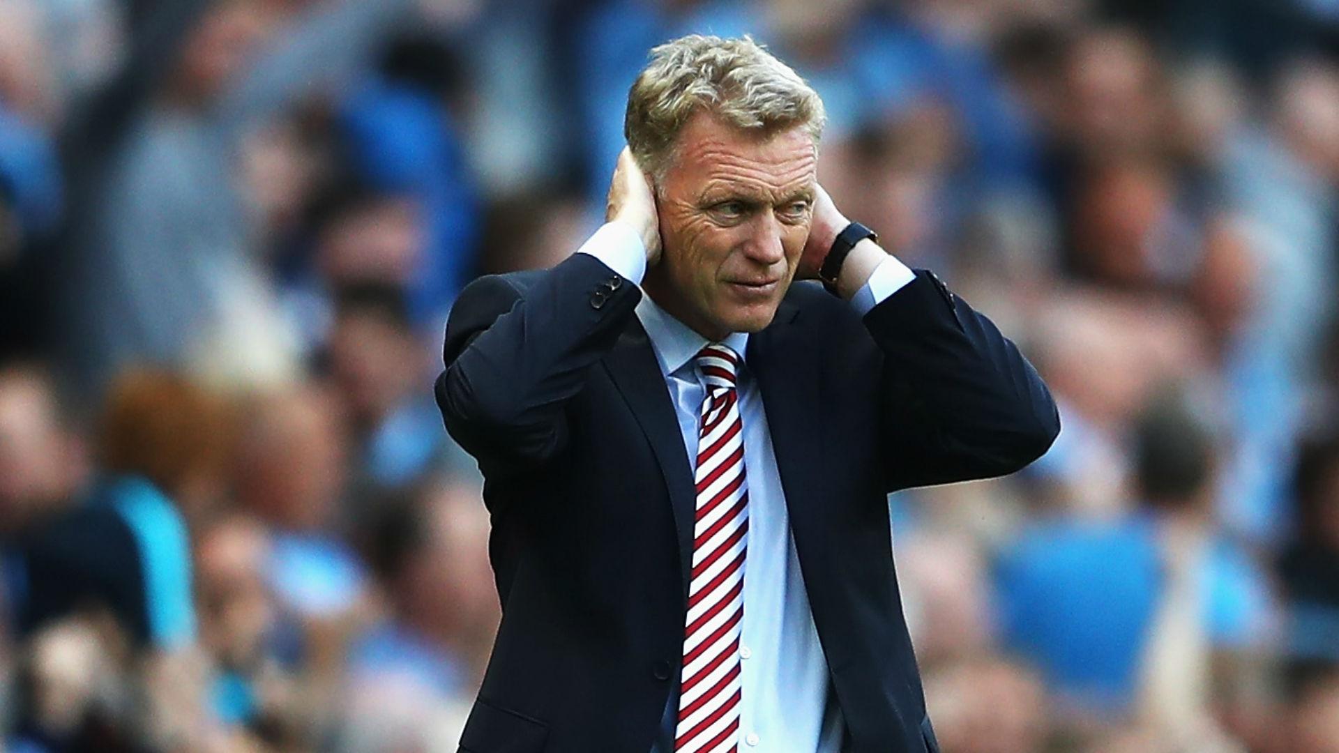 David Moyes Premier League Man City v Sunderland