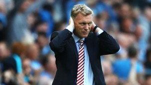 David Moyes Premier League Man City v Sunderland