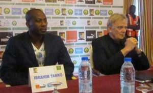 Ibrahim Tanko and Volker Finke