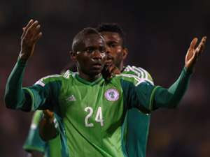 Uche Nwofor Nigeria Scotland International friendly 05282014