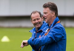 Louis van Gaal and Danny Blind,  Netherlands