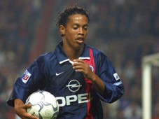 Ronaldinho Paris Saint Germain PSG 2001