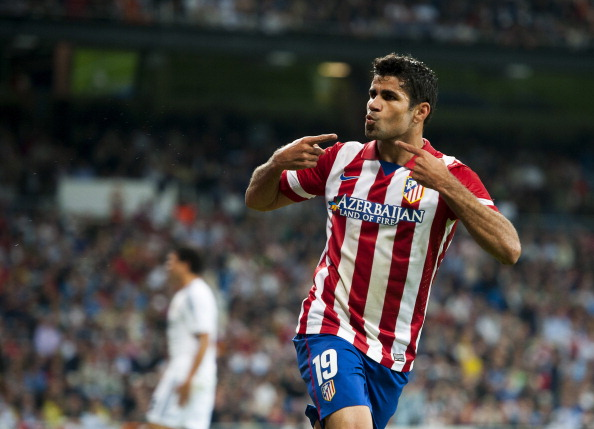 REAL MADRID 0-1 ATLETICO DIEGO COSTA 130928
