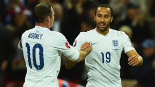 Wayne Rooney; Andros Townsend England
