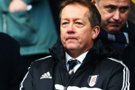 Former Fulham technical director Alan Curbishley