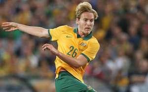 Ben Halloran Australia v South Africa international friendly 140526