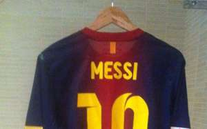 Lionel Messi shirt in Barcelona the Player who gave it to Moroccan Abdelaziz Barrada