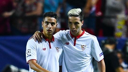 Wissam Ben Yedder Samir Nasri Sevilla 27092016