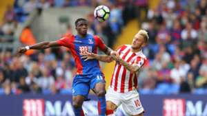 HD Wilfried Zaha Marko Arnautovic Crystal Palace Stoke City