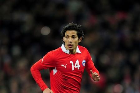 Chile midfielder Matias Fernandez