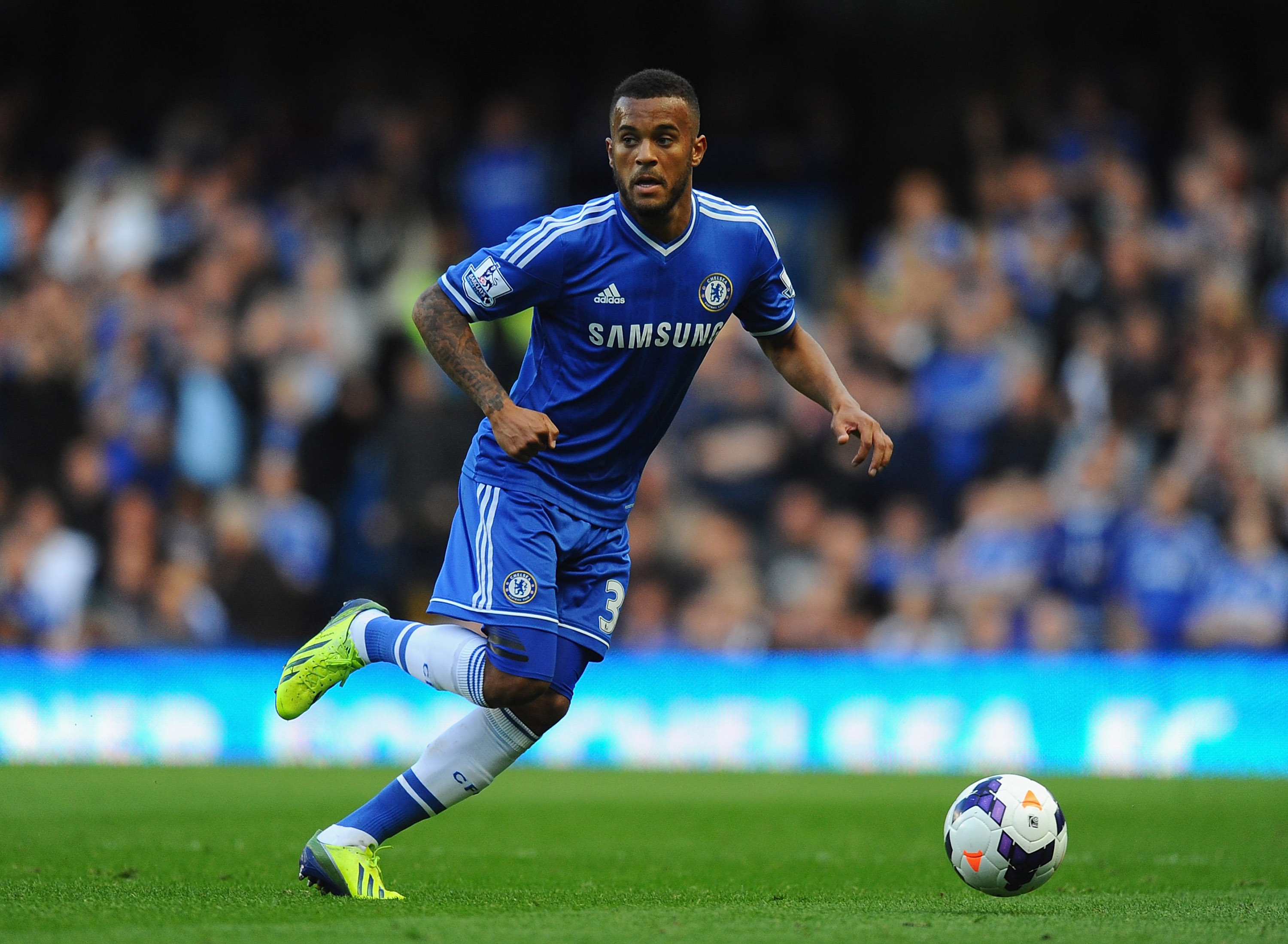 Chelsea defender Ryan Bertrand