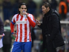Diego Simeone, Falcao, Atletico Madrid